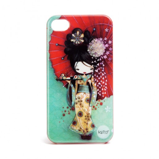 iPhone 4 case Geisha