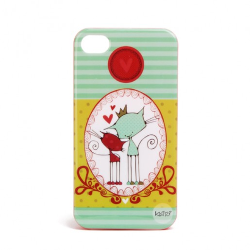 iPhone 4 case Lover cats