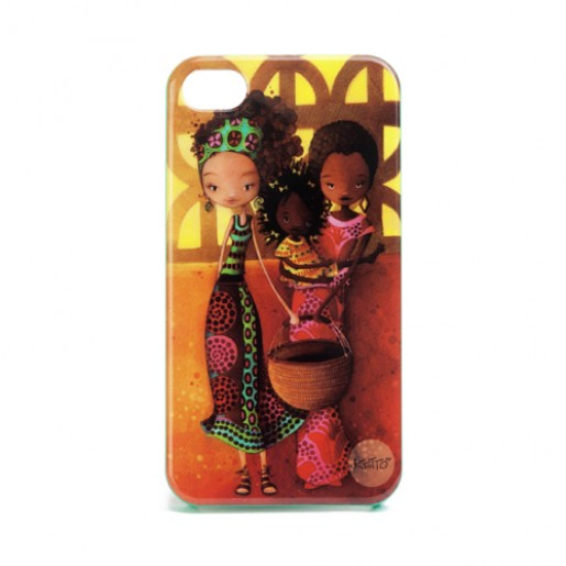iPhone 4 case Africa journey