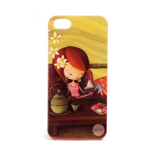 iPhone 5 case Tea hour