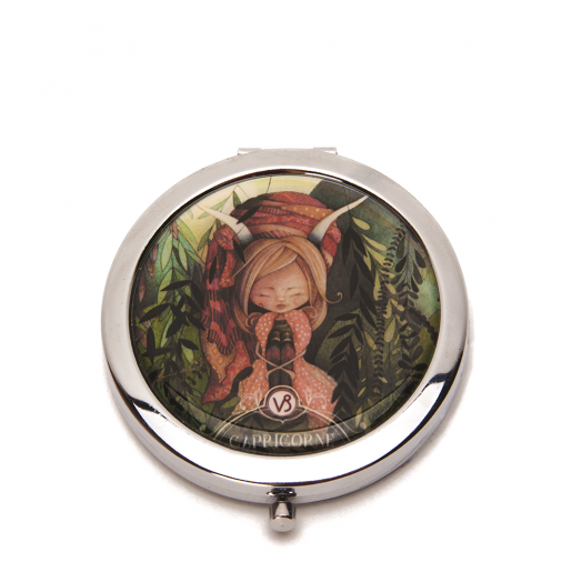 Pocket mirror Zodiac- Capricorn