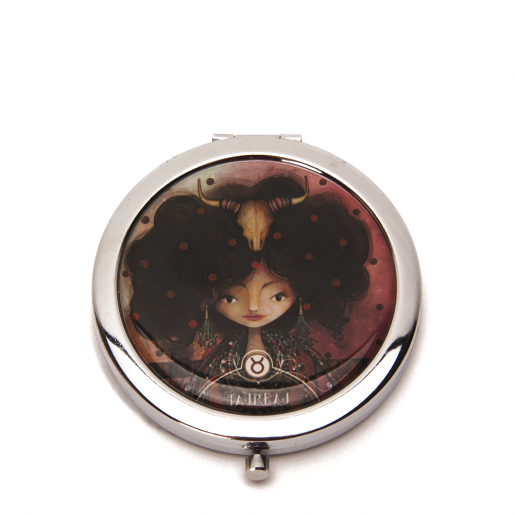 Pocket mirror Zodiac- Taurus