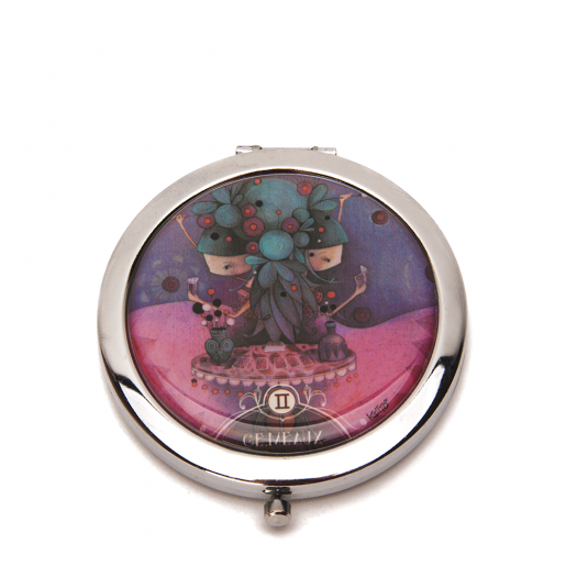 Pocket mirror Zodiac- Gemini