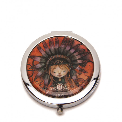 Pocket mirror Zodiac- Leo