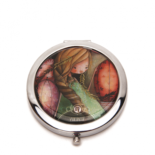 Pocket mirror Zodiac- Virgo