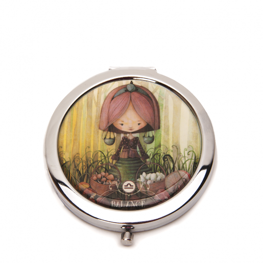 Pocket mirror Zodiac- Libra