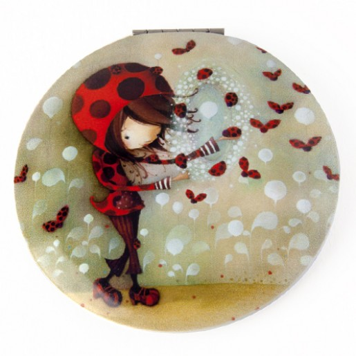 Pocket mirror Ladybug Girl
