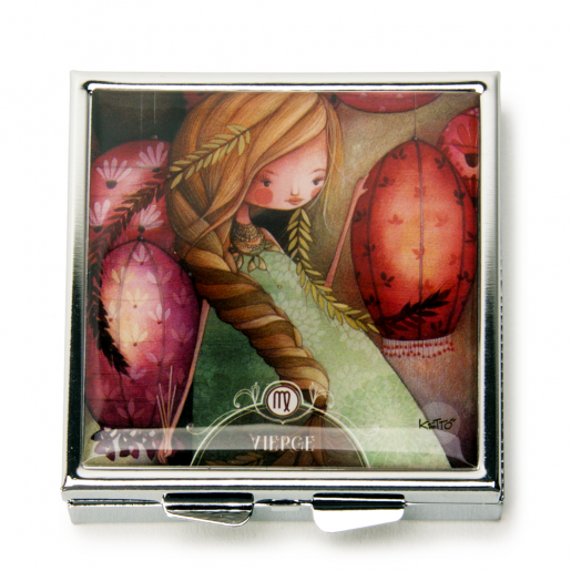 Pill Boxes Zodiac- Virgo