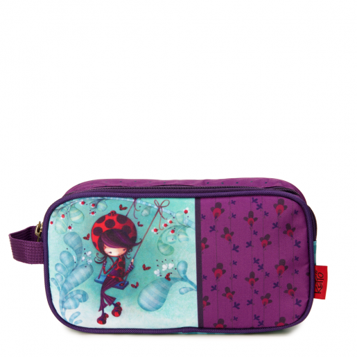 Double pencil case Daphné the Ladybug