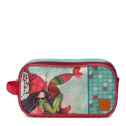 Double pencil case Lilia