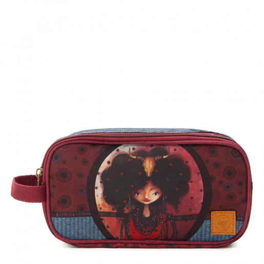 Double pencil case Aïda