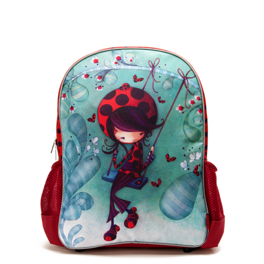 Small backpack Daphné the ladybug