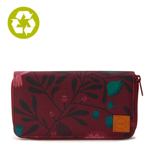 Wallet Turquoise Poppy