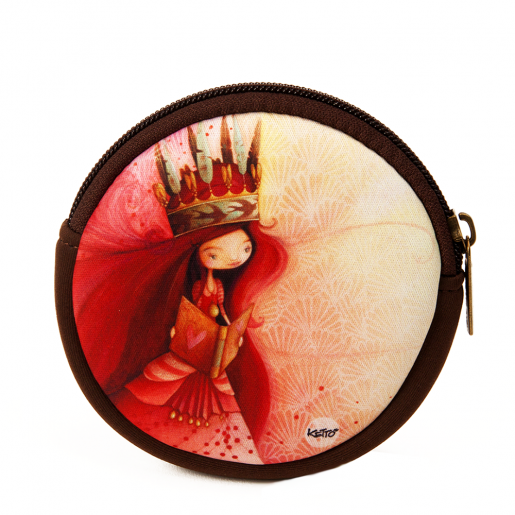 Round coin purse Penelope