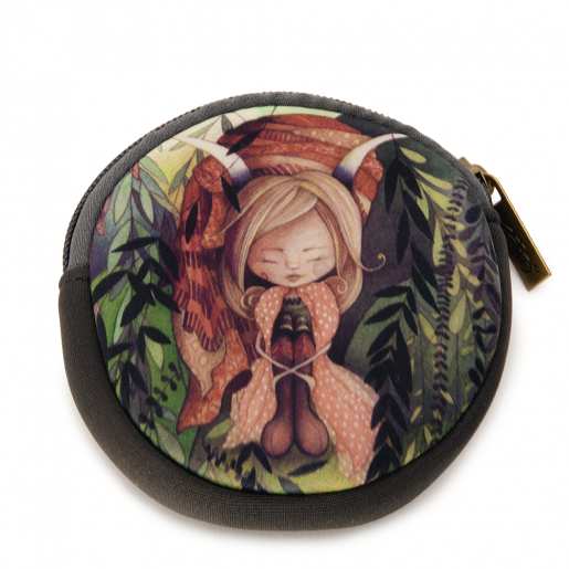 Round coin purse Mia