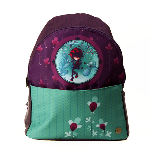 Fashion backpack Daphné the Ladybug