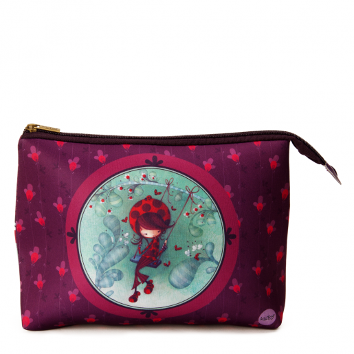 Cosmetic bag jumbo Daphné the Ladybug