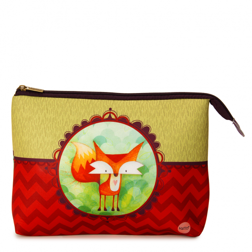 Cosmetic bag jumbo Fox