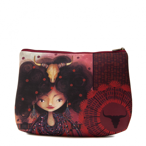 Cosmetic bag jumbo Aïda