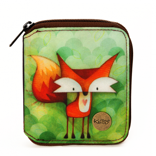 Small wallet Fox