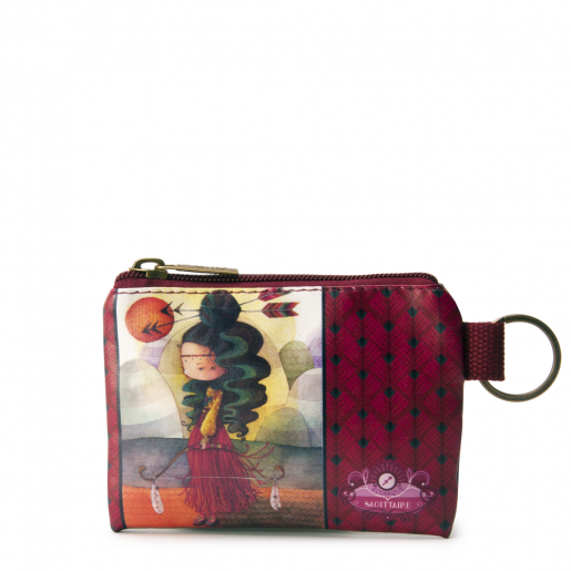 Small Square Coin Purse- Sagittarius
