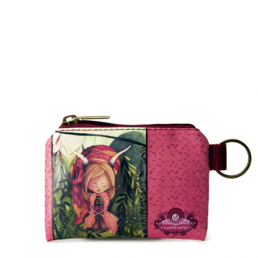 Small Square Coin Purse- Capricorn