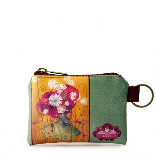Small Square Coin Purse- Aries
