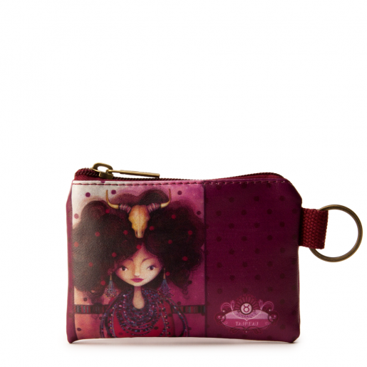 Small Square Coin Purse- Taurus