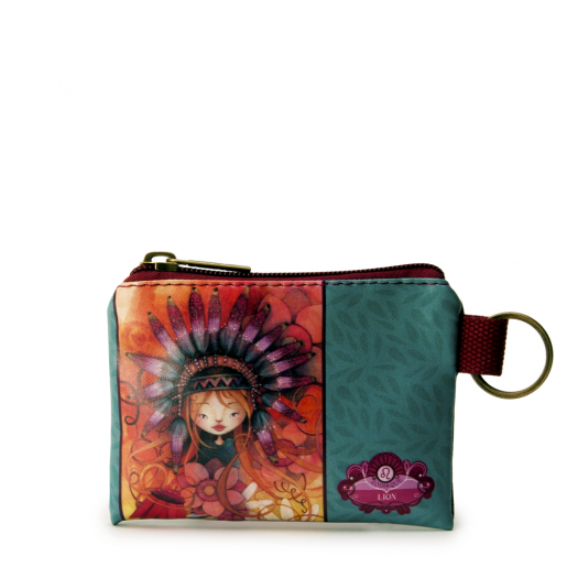 Small Square Coin Purse- Leo