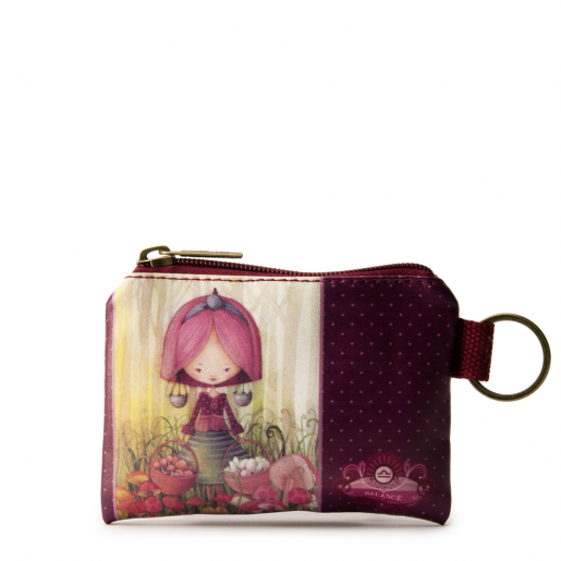Small Square Coin Purse- Libra