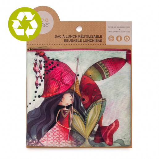 Medium zero waste pouch Lilia