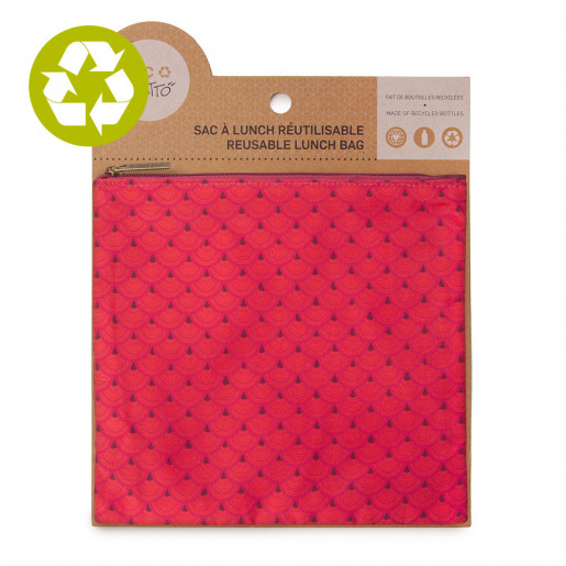 Medium zero waste pouch Lilia pattern