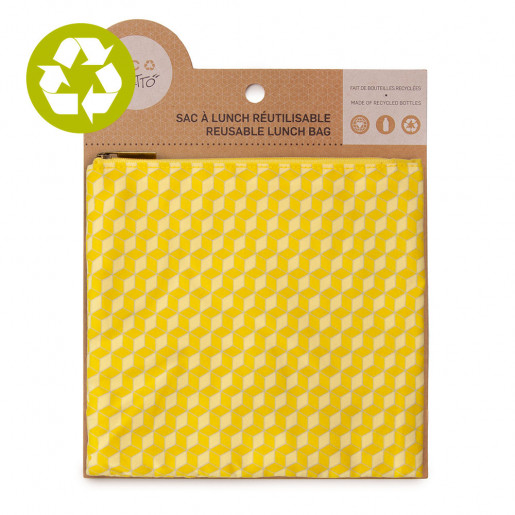 Medium zero waste pouch Daredevils pattern