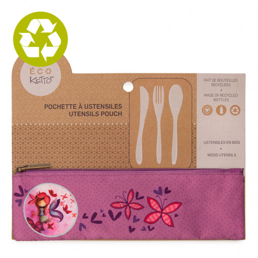 Zero waste utensils pouch Mathilde