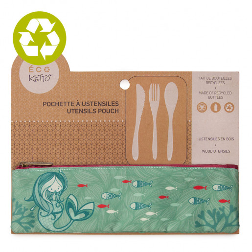 Zero waste utensils pouch Lilia