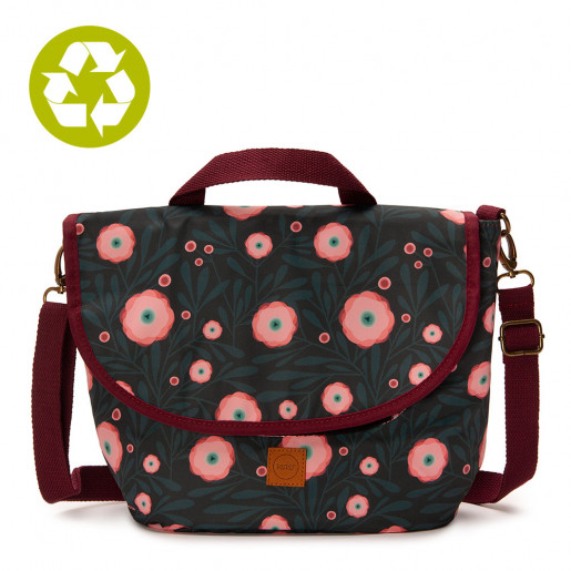Pretty Lunch Bag Pink Poppy