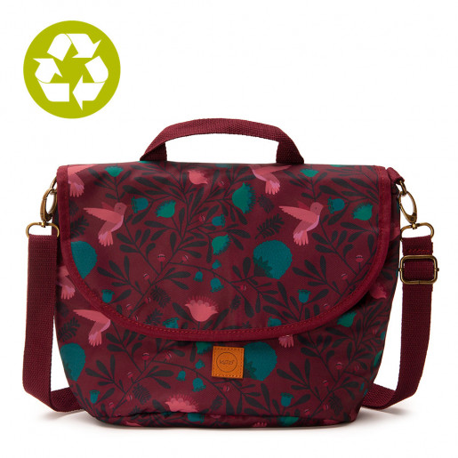 Pretty Lunch Bag Turquoise Poppy