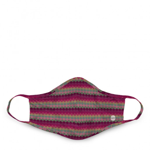 Face mask | Knit multicoloured