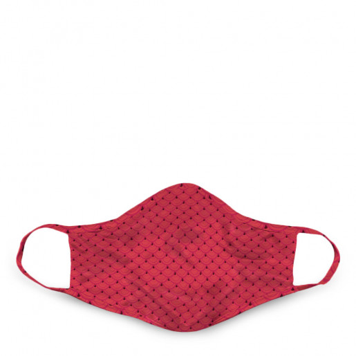 Face mask Red scales