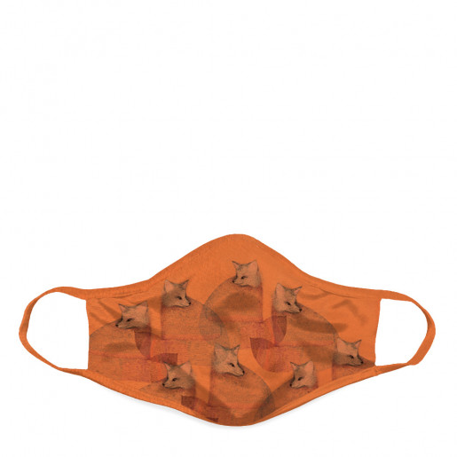 Face mask | Orange foxes