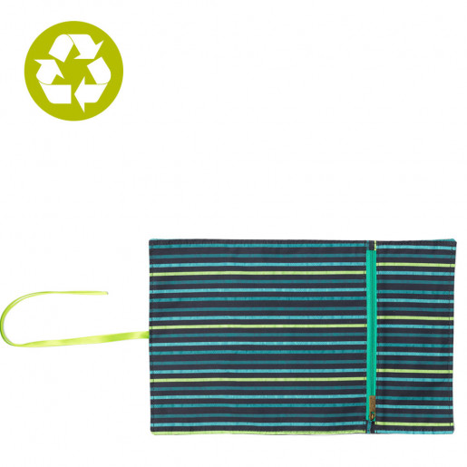 fabric placemat with pocket for utensils for boy or man jungle ketto