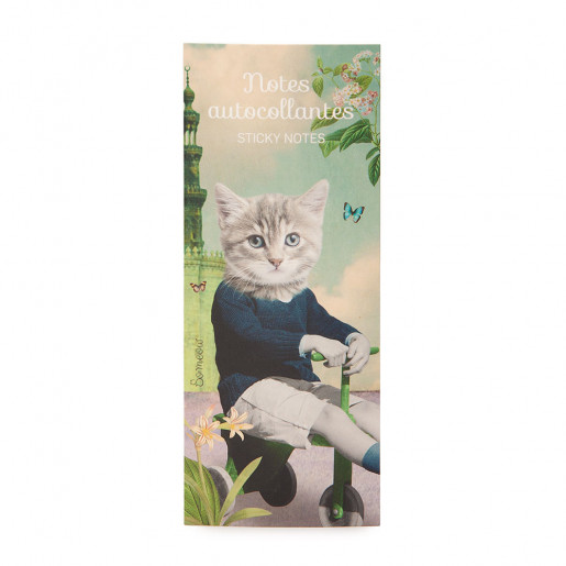Self-adhesive notes Au jardin So Meow