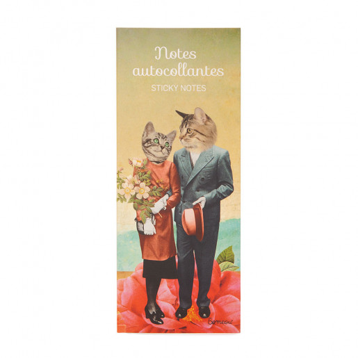 Self-adhesive notes Les amoureux So Meow