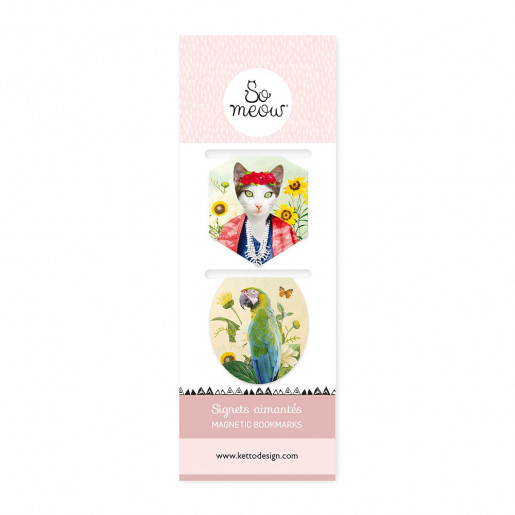Magnetic bookmarks Frida Cathlo So Meow