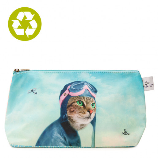 Large pouch The Explorer So Meow