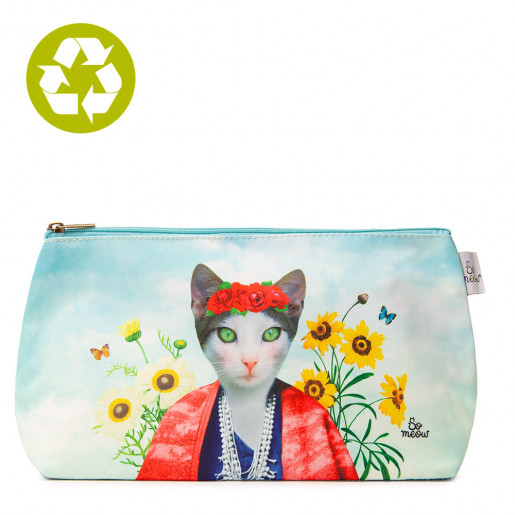 Large pouch Frida Cathlo So Meow